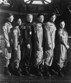 Space Above and Beyond Cast - Morgan Weisser as Lt. Nathan West, Lanei Chapman as Lt. Vanessa Damphousse, James Morrison as Lt. Col. Tyrus Cassius 'T.C.' McQueen, Joel de la Fuente as Lt. Paul Wang, Rodney Rowland as Lt. Cooper Hawkes, Kristen Cloke as Lt. Shane Vansen