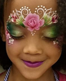 Princess Face Painting, Face Painting For Boys, Face Painting Designs, Face Painting Flowers, Henna Paint, Mask Painting, Fx Makeup, Face Art, Face And Body