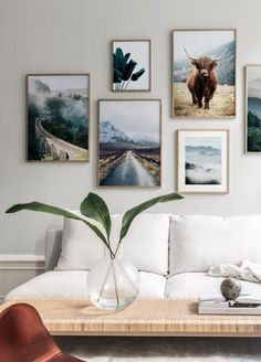 Gallery wall inspiration - Find these posters and more beautiful prints like thi. Gallery wall inspiration - Find these posters and more beautiful p Decor Room, Living Room Decor, Bedroom Decor, Ikea Bedroom, Bedroom Furniture, Design Furniture, Plywood Furniture, Inspiration Wand, Bedroom Inspiration