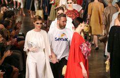 SPFW Verão 2015: Alexandre Herchcovitch faz coleção inspirada em Marilyn Monroe http://oesta.do/1jK5ARf