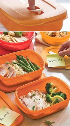 CrystalWave® Containers. Be a pop star. Containers specially designed so you can take your make-ahead meal with you. Just pop the steam vent and leave the seal in place to prevent spills when reheating. A meal-planning super star.