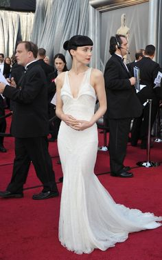 Rooney Mara in Givenchy Haute Couture, 2012