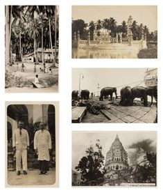 Straits Settlements, The Saleroom, Mount Rushmore, Singapore, Photo Wall, Auction, Island, 1920s, Postcards