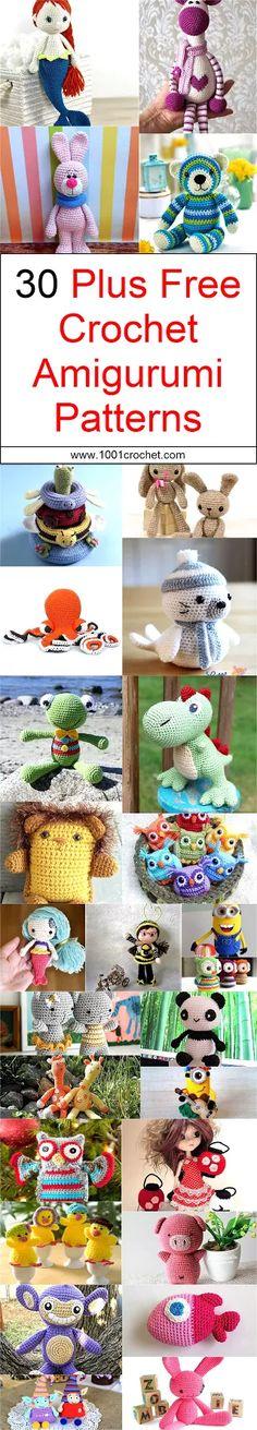 30-plus-free-crochet-amigurumi-patterns
