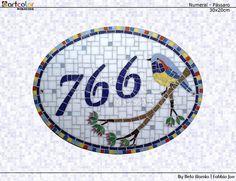 Numeral em mosaico