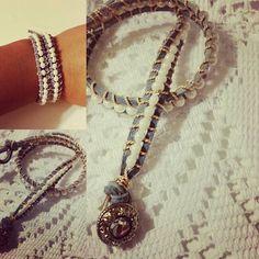 Wrap bracelet #jewelrymaking #wrapbracelet #etsy #ticklefacylane