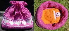 Ravelry: Baby Doll Cradle Purse pattern by Sarah Bradberry