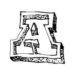 A Letter a Day Project by Béla Frank, via Behance