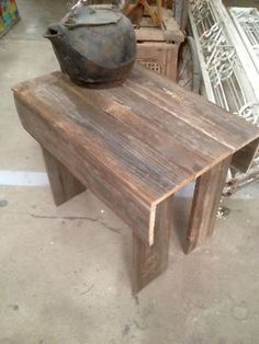 "Cedar Patio Plant Table  $18   Rustiquities Vendor ""BL"" or "" pumpkin guy""  Red Barn 305 W Madison Waxahachie, Tx 75165  Open: Wed-Sat. 9:00 to 5:00 Sunday. 11:00 to 5:00  Read more: http://dallas.ebayclassifieds.com/outdoor-garden/waxahachie/cedar-patio-plant-table/?ad=40851599#ixzz3jEMqw5Zw"