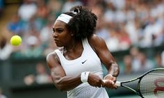 Serena Williams displayed typical urgency in defeating Timea Babos in 59 minutes on Centre Court.