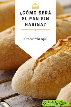 ¿Cómo será el pan sin harina? ¡Descúbrelo aquí!
