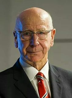 Sir Bobby Charlton CBE Born: October 1937 is an English former football player, regarded as one of the greatest midfielders of all time, and an essential member of the England team who won the World Cup in Manchester United Legends, Manchester United Players, Man Utd Squad, Bobby Charlton, Paisley Scotland, Premier League Champions, Manchester United Football, Simply Red, Old Trafford
