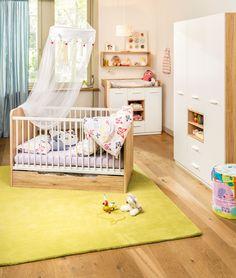 Micasa Kinderzimmer mit Babybett, Wickelkommode und Schrank aus dem Programm LILOU