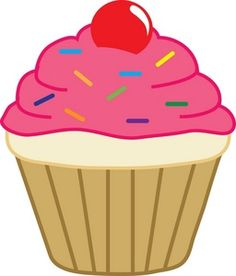 Drawing Cup, Food Drawing, Cupcake Drawing, Cupcake Art, Cartoon Cupcakes, Cookie Cake Designs, Fairy Clipart, Cupcake Clipart, Cupcake Pictures