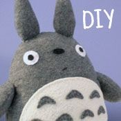 DIY Totoro Plush Tutorial