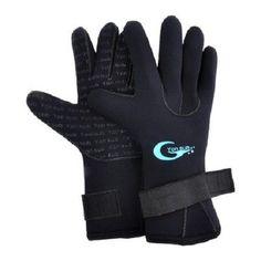 Anti Slip Scuba Gloves Diving Surfing Neoprene Water Warm Snorkeling Unisex Kit #AntiSlipScuba