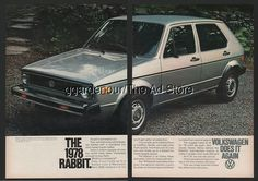 Cool Volkswagen 2017: 1978 VW Silver Rabbit Volkswagen Does it Again 1977 GREAT PHOTO Ad  Vintage Volkswagen Advertising Check more at http://carsboard.pro/2017/2017/02/15/volkswagen-2017-1978-vw-silver-rabbit-volkswagen-does-it-again-1977-great-photo-ad-vintage-volkswagen-advertising/