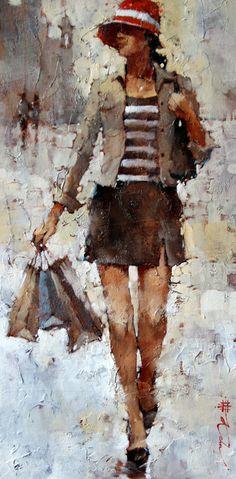 *The City Gal, Sorrento* ~ by Andre Kohn