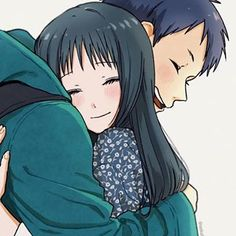 Tomohito Sugino x Yukiko Kanzaki [Assassination Classroom] Anime Couples Hugging, Cute Anime Couples, Anime Amor, Anime Manga, Koro Sensei, Okuda, Girls Anime, Couple Illustration, Couple Drawings