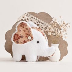 Handmade Elephant Toy