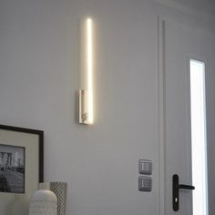 Applique, led intégrée Bara, 1 x 12 W, métal chromé, INSPIRE | Leroy Merlin