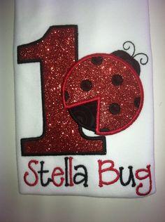 Hey, I found this really awesome Etsy listing at http://www.etsy.com/listing/160948621/custom-glitter-ladybug-lady-bug-birthday