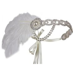 Vijiv Silver 20s Headpiece Vintage 1920s Headband Flapper Great Gatsby ($2) ❤ liked on Polyvore featuring accessories, hair accessories, silver flapper headband, silver hair accessories, 1920s flapper headband, headband hair accessories and roaring twenties headband