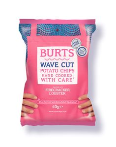 New special Burts Chips, designed by Tea Creative, London
