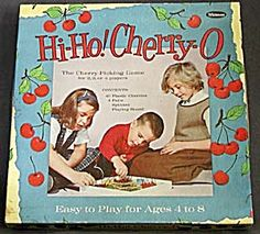 We eventually used the cherries in playing house.