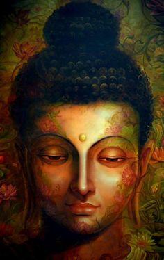 buddhism tattoo ideas - 35 Peaceful Gautam Buddha Painting Ideas to Feel Calm Art Buddha, Buddha Kunst, Buddha Zen, Buddha Painting, Buddha Quote, Buddha Artwork, Buddha Peace, Buddha Life, Buddha Statues