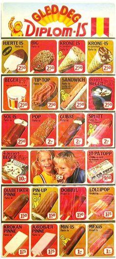 Diplom-is, 1976 Pin Up, Tip Top, Pop, Childhood Memories, Cereal, Sandwiches, Breakfast, Desserts, Norway
