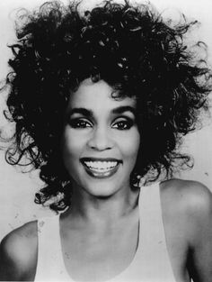 Classic Image of Whitney Houston.  Before she met Bobby Brown.  I wanna dance with somebody.