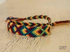 Dark Rainbow Friendship Bracelet  ,Jewelry  ,Bracelet  ,Fiber  ,woven  ,macrame  ,friendship Bracelet  ,hippie  ,colorful ,native, rainbow