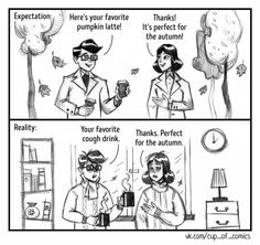 11comics from the life of a happy couple