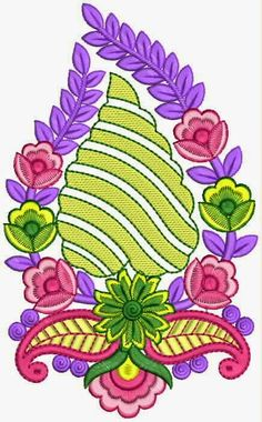 Latest Embroidery Designs, Applique Embroidery Designs, Aari Embroidery, Machine Embroidery, Rangoli Designs Diwali, Lord Shiva Painting, Border Design, Textile Prints, Fabric Art