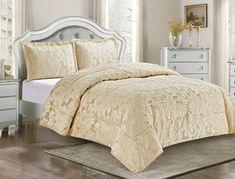 Přehoz na dvoulůžko Zarina 230 x 250 cm zlatavý Comforters, Blanket, Bed, Home, Creature Comforts, Quilts, Stream Bed, Ad Home, Blankets