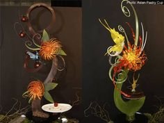 World Pastry Pulled Sugar Competition  Sculpture from Singapore