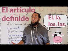 Usos del artículo definido en español
