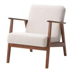 EKENÄSET Armchair  - IKEA Nolhaga leight beige