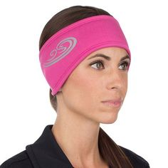 TrailHeads Women's Power Ponytail Headband - berry/reflective silver