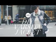 How to Make a Varsity Jacket (Letterman Jacket) - YouTube