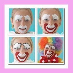 fiesta circo - maquillaje de payaso - wonkis