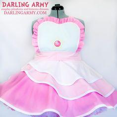 Rose Quartz Steven Universe Cosplay Pinafore Dress by DarlingArmy.deviantart.com on @DeviantArt