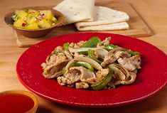 Fantastic Pork Fajitas are a taste sensation and an excellent source of protein for the dialysis and diabetic dialysis diets. An array of herbs, spices and vegetables give the pork a delicious flavor and it all wraps up nicely in a flour tortilla. Pork Chop Recipes, Diet Recipes, Diabetes Recipes, Kidney Recipes, Mexican Food Recipes, Low Potassium Recipes, High Potassium, Pork Fajitas, Kidney Friendly Foods