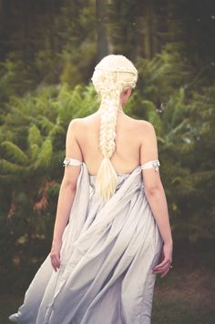 fashion <---- somebody labeled this pin as fashion. You dumb shit, it's a wanna be daenarys.