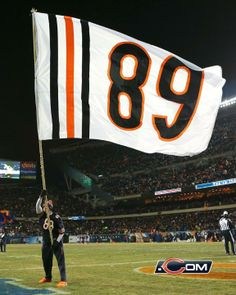 The Bears retired Mike Ditka's jersey during a ceremony at halftime of the Bears-Cowboys game. Chicago Bears Baby, Chicago Blackhawks, Chicago Bulls, Chicago City, Chicago Style, Bears Football, Football Team, Mike Ditka, Nfl Championships