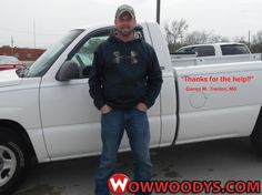 """Darren Morse from Trenton, Missouri purchased this 2004 Chevrolet Silverado and wrote, """"Thanks for the help!! 5 stars!"""" To view similar vehicles and more, go to www.wowwoodys.com today!"""
