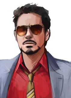 I always loved Iron Man, but getting RDjr. To do him makes him seem a ton cooler. Plus, he looks like the anime Tony Stark.