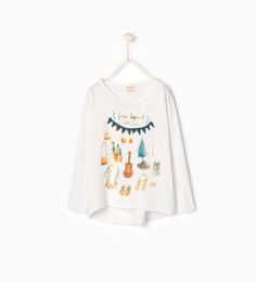 ZARA - KIDS - T-shirt with appliqué