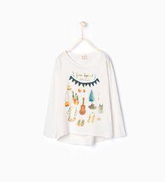 ZARA - KIDS - T-shirt with appliqué